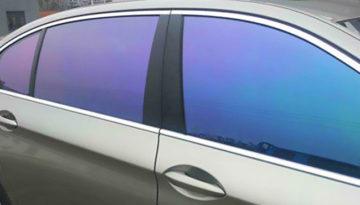 Тонировка стекол автомобиля цветной пленкой